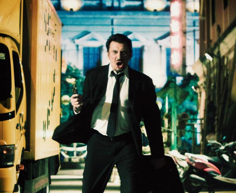 Johnny Hallyday, protagonista del film Vendicami
