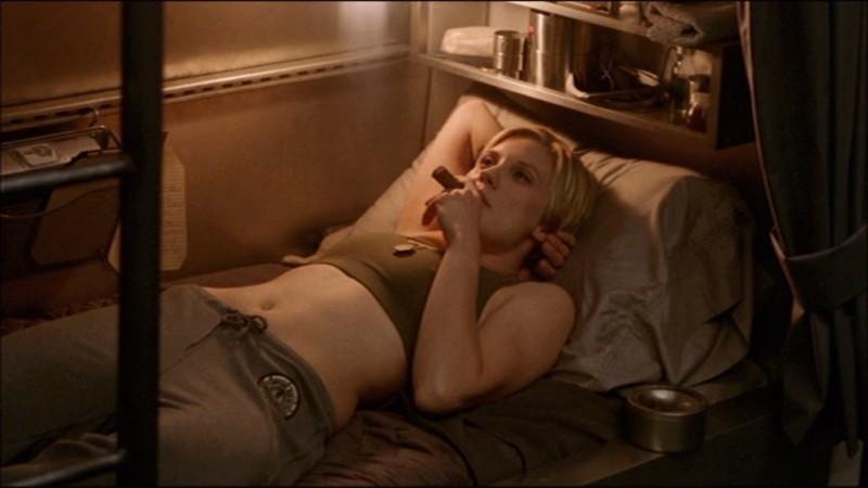 Katee Sackhoff è nel cast di Battlestar Galactica