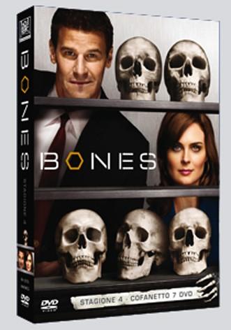 La copertina di Bones - Stagione 4 (dvd)