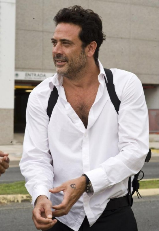 Un'immagine di Jeffrey Dean Morgan dal film The Losers