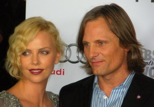 Viggo Mortensen e Charlize Theron all'AFI Fest