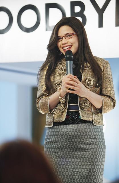 America Ferrera nell'episodio Hello Goodbye, finale di Ugly Betty