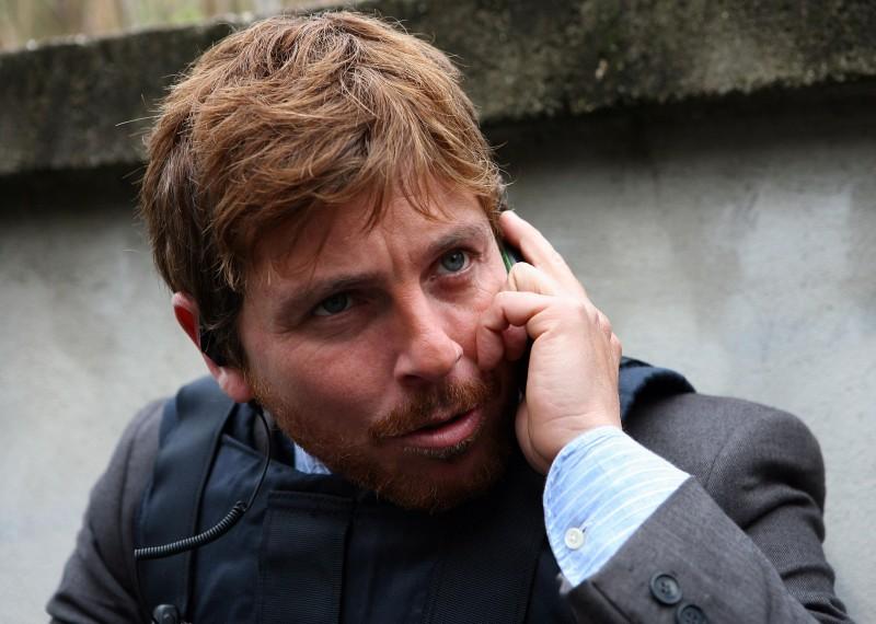 Claudio Gioè in un'immagine della serie Squadra antimafia - Palermo oggi 2
