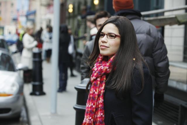 Ugly Betty: America Ferrera nell'episodio London Calling
