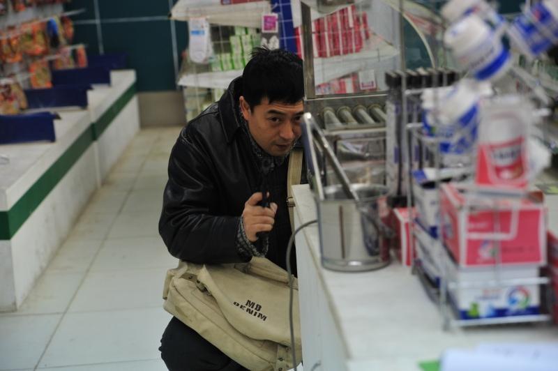 Un momento del film cinese One Night In Supermarket