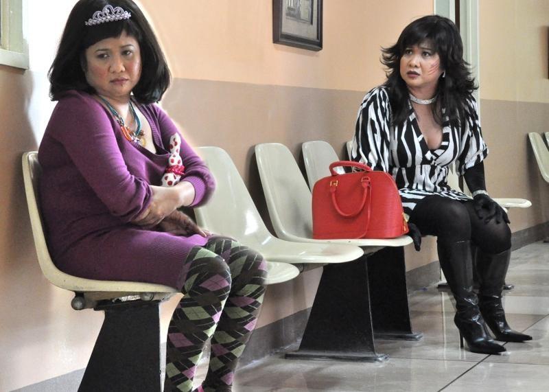 Una scena del film Kimmy Dora