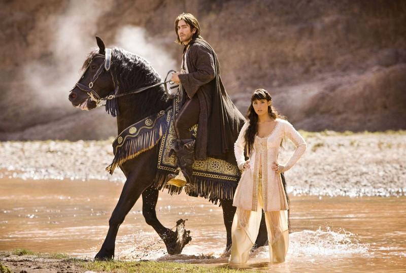 Il Principe Dastan (Jake Gyllenhaal) e la bella Tamina (Gemma Arterton) in Prince of Persia: Le Sabbie del Tempo