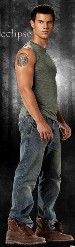 Jacob Black (Taylor Lautner) in un'immagine promozionale del film The Twilight Saga: Eclipse