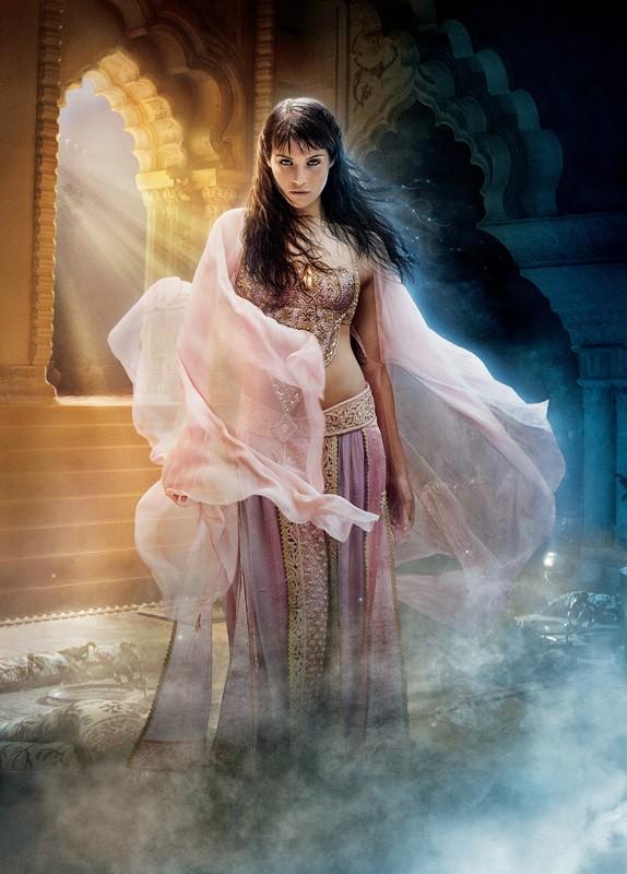 L'immagine promo di Gemma Arterton utilizzata per un poster di Prince of Persia: Sands of Time