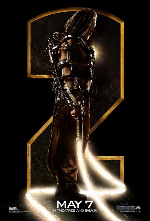 Nuovo Character Poster di Iron Man 2, Mickey Rourke