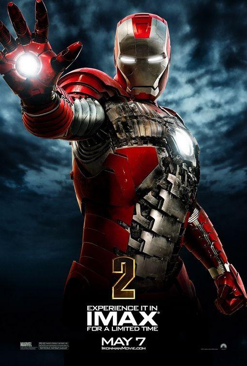 Nuovo poster IMAX per Iron Man 2