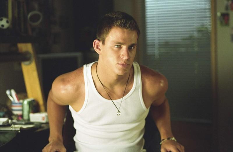 Channing Tatum nel ruolo di Duke in una scena del film She's the Man