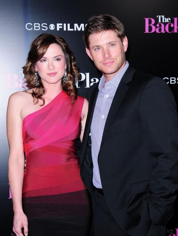 Danneel Harris e il fidanzato Jensen Ackles alla Premiere di Piacere, sono un po\' incinta