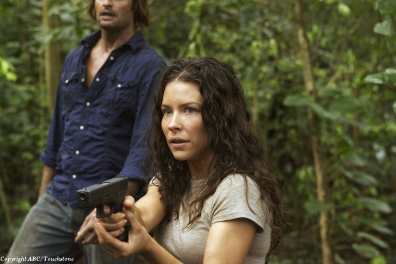 Evangeline Lilly nell'episodio The Cadidate di Lost