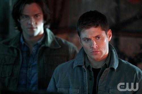 Jared Padalecki e Jensen Ackles nell'episodio The Devil You Know di Supernatural