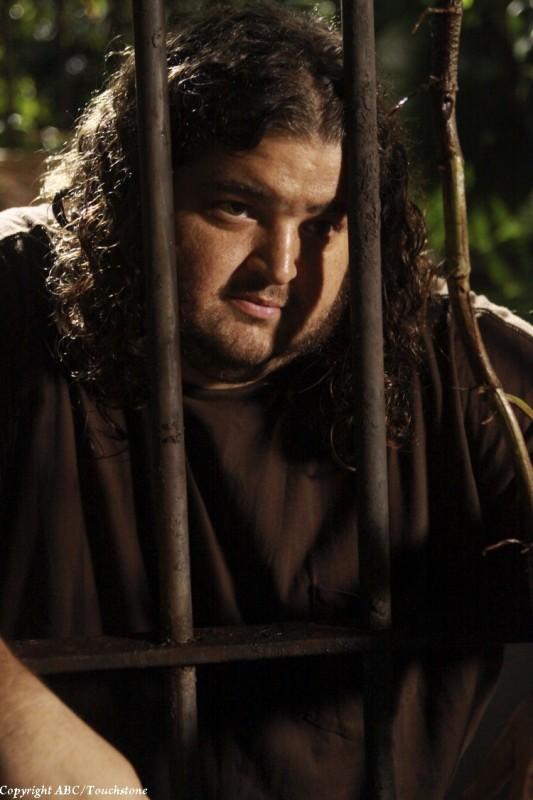 Jorge Garcia nell'episodio The Cadidate di Lost