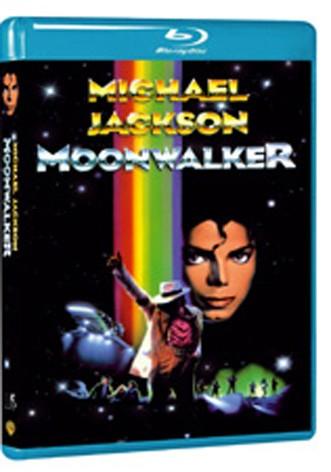 La copertina di Moonwalker (blu-ray)