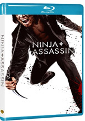 La copertina di Ninja Assassin (blu-ray)