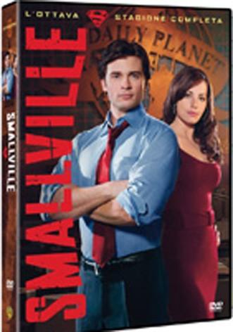 La copertina di Smallville - Stagione 8 (dvd)