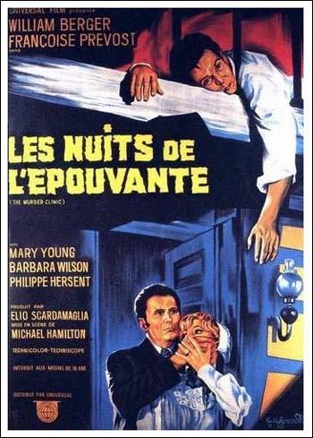 Locandina francese del film La lama nel corpo (1966)