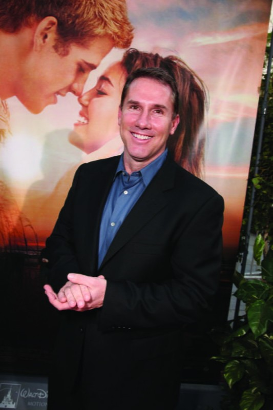 Nicholas Sparks alla première del film The Last Song all'ArcLight theater di Hollywood