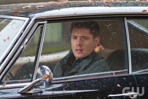 Supernatural: Jensen Ackles in una scena dell'episodio Two Minutes to Midnight