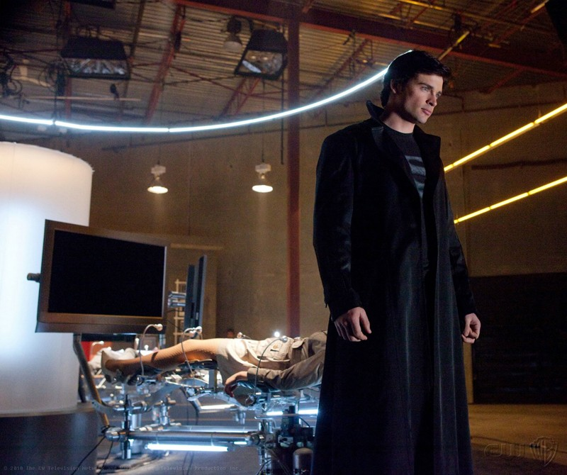 The Blur (Tom Welling) nell'episodio Charade di Smallville