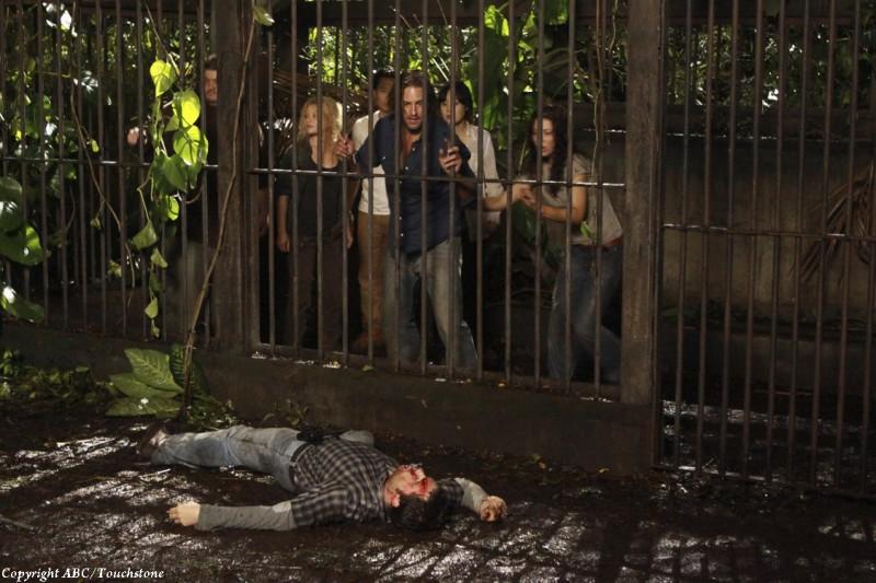 Una scena dell'episodio The Cadidate di Lost