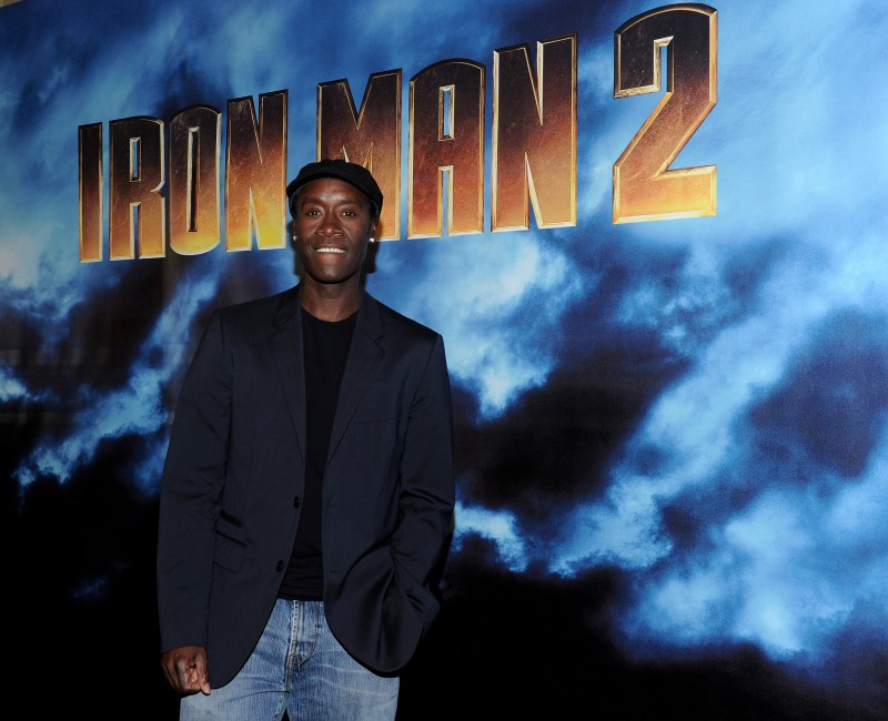 Don Cheadle al photocall di Iron Man 2 a Los Angeles