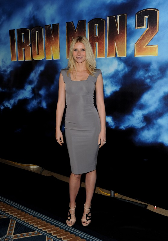 Gwyneth Paltrow al photocall di Iron Man 2 a Los Angeles