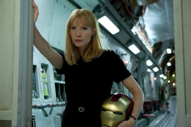 Gwyneth Paltrow in un'immagine intrigante di Iron Man 2