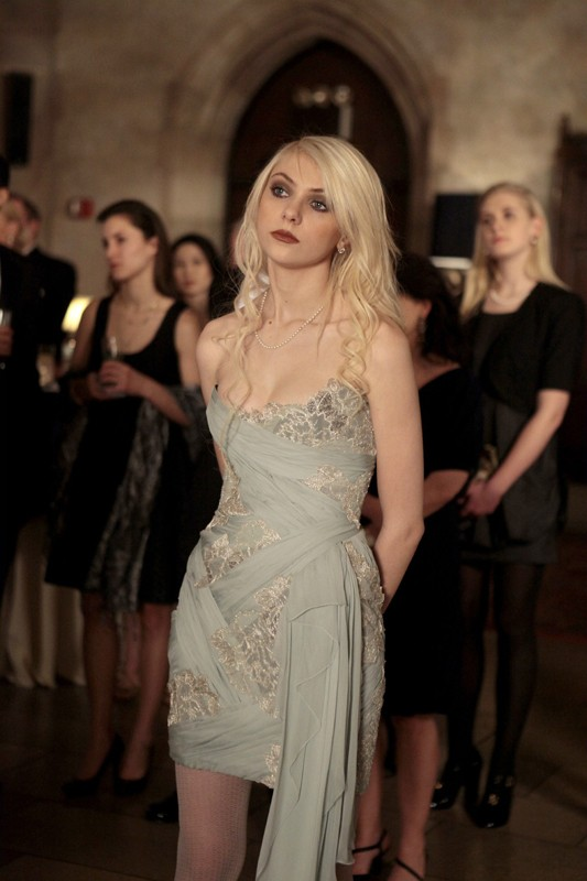 Jenny (Taylor Momsen) nell'episodio It's a Dad, Dad, Dad, Dad World  di Gossip Girl