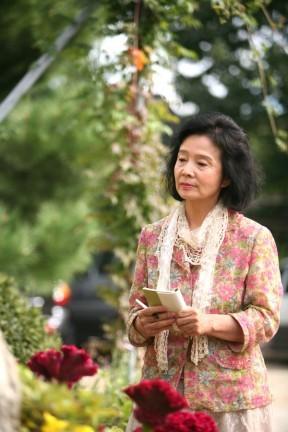 La protagonista del dramma Poetry di Lee Chang-dong