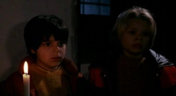 Lorenzo Aiello nel film La casa con la scala nel buio di Lamberto Bava