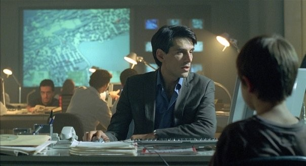 Stefano Dionisi in un'immagine del film La fisica dell'acqua
