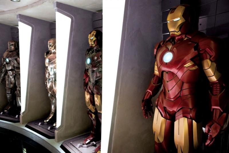 Un'immagine del film Iron Man 2