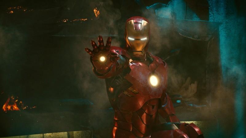 Un'immagine di Tony Stark (Robert Downey Jr) dal film Iron Man 2