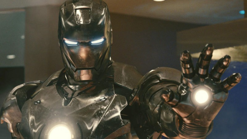 Una strepitosa immagine tratta dal film Iron Man 2