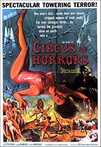 La locandina di Il circo degli orrori