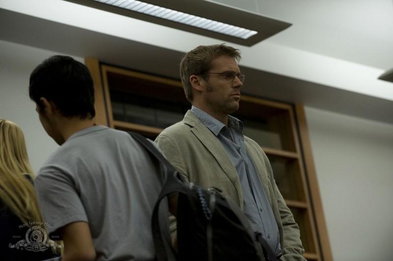 Daniel Jackson (Michael Shanks) in un momento dell'episodio Human di Stargate Universe