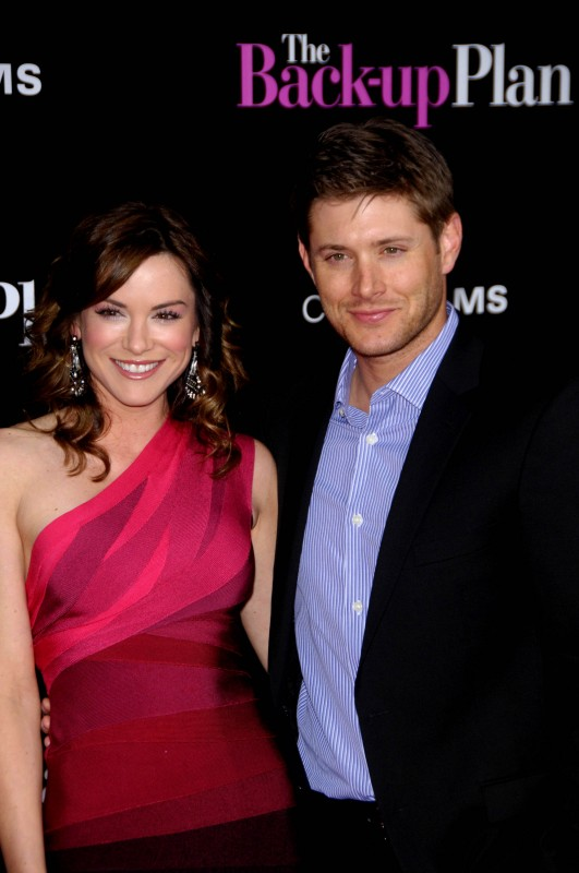 Danneel Harris accanto a Jensen Ackles alla Premiere di The Back-Up Plan