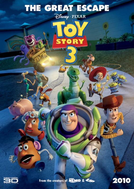 Il nuovo poster internazionale del film Toy Story 3
