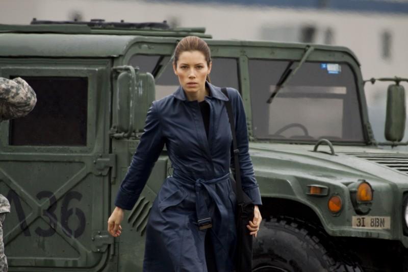 Jessica Biel, protagonista femminile del film The A-Team