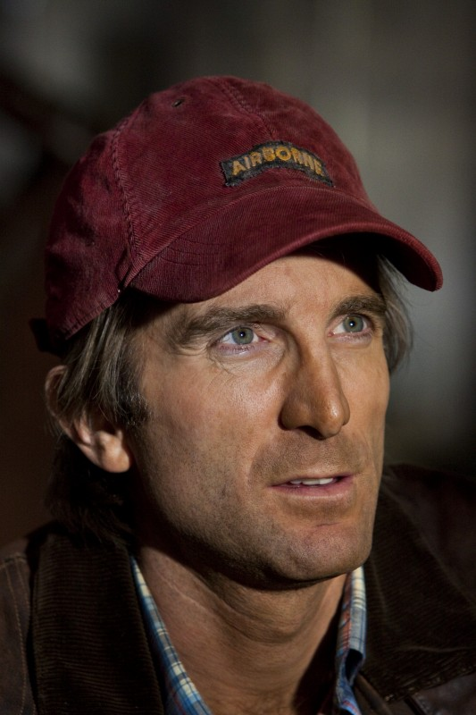 Primo piano di Sharlto Copley dal film The A-Team