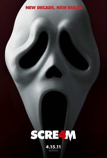 Teaser poster per Scream 4