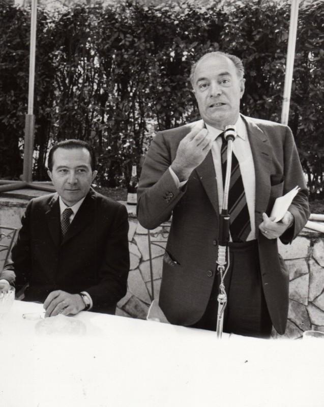 Giovanni Amati con Giulio Andreotti