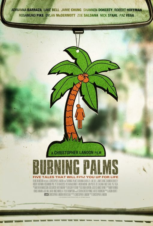 La locandina di Burning Palms