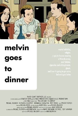La locandina di Melvin Goes to Dinner