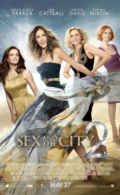 Nuova locandina di Sex and the City 2