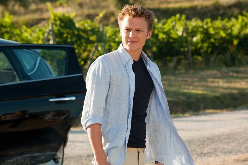 Christopher Egan nel ruolo di Charlie nel film Letters to Juliet